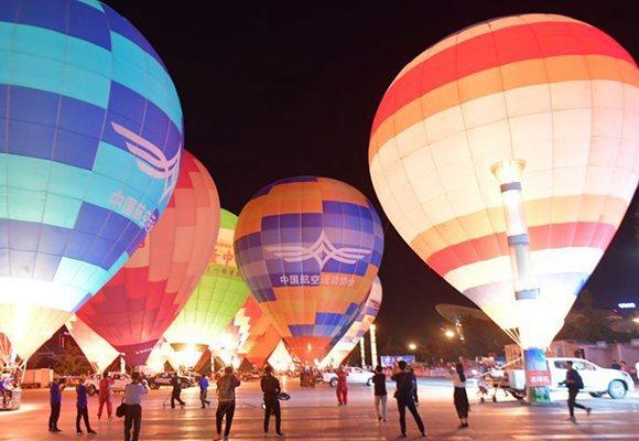 热气球梦想天空节湖北襄阳启动