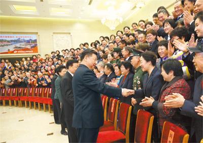 习近平话团圆金句:团聚最喜悦 团圆最幸福 团结最有力