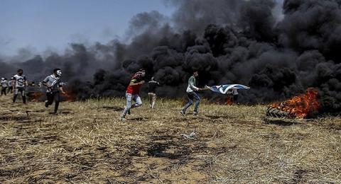 巴以冲突再起 造成巴勒斯坦方1人死亡14人受伤
