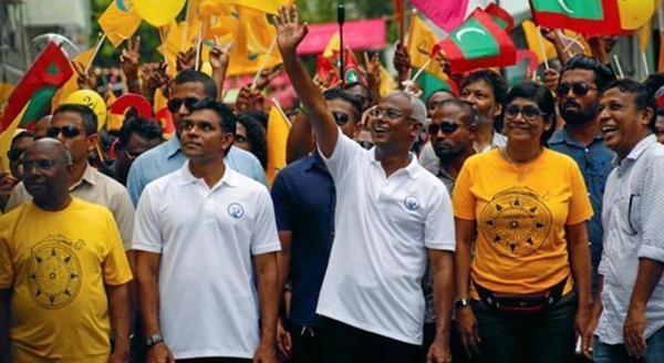 马尔代夫反对派竞选人萨利赫宣称赢得总统大选