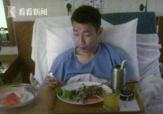 大马羽坛名将李宗伟在台治癌 病床照片首曝光(图)