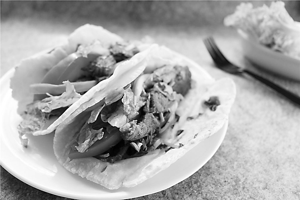 墨西哥煎饼尽是玉米味