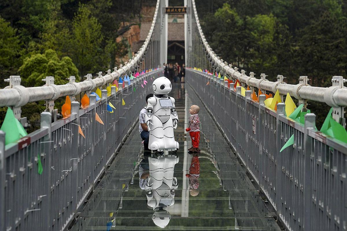 外媒:中国机器人革命 正在为人类提供服务