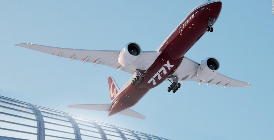 波音公司史上最大喷气式客机777X即将曝光原型机