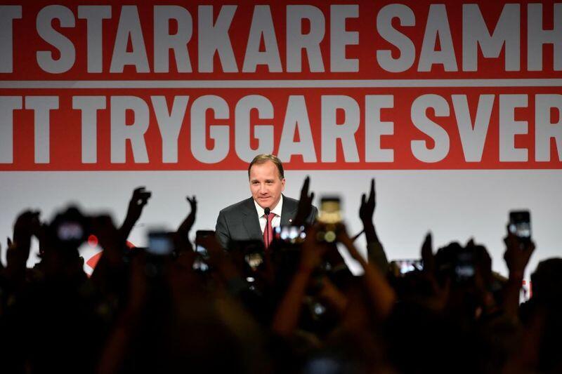 瑞典议会以不信任投票罢免首相斯特凡•勒文