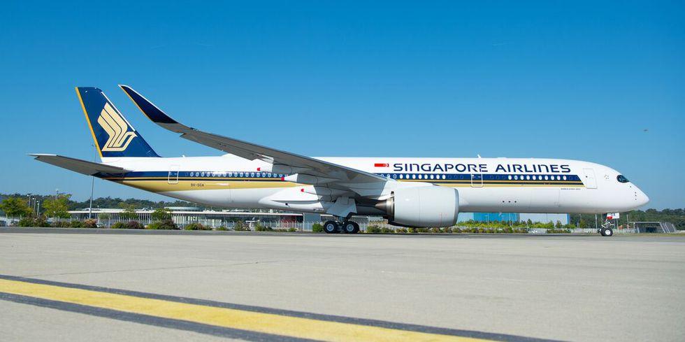 新加坡航空引入最新空客A350执飞世上最长航线