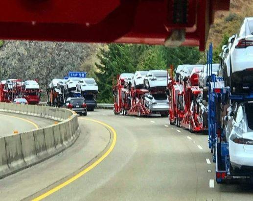特斯拉拟自主生产汽车运输拖车 缓解物流压力