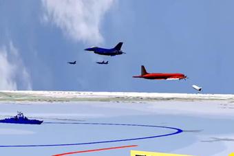3D动画还原伊尔20被击落过程 俄称以军应该负责
