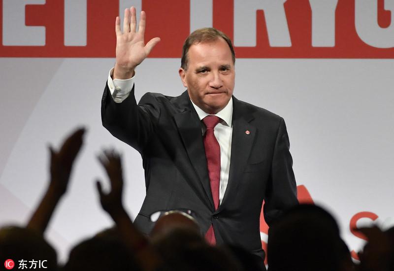 瑞典首相在不信任投票中落败 将面临下台