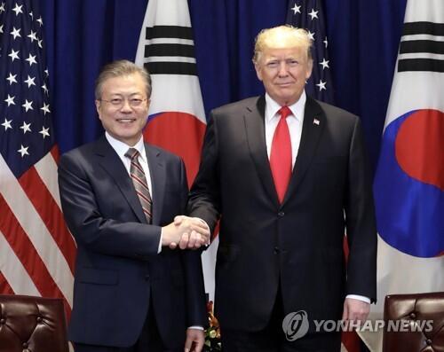 韩媒:韩青瓦台称韩美首脑就金特会日期地点深入协商