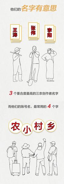 今日头条发布三农创作者画像:王涛、张伟和李阳为最常见姓名