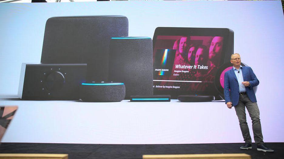 亚马逊推出11款设备 除了音箱还有挂钟微波炉
