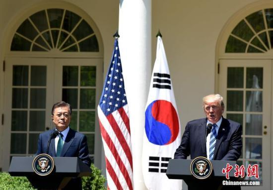 美韩领导人会晤讨论朝鲜半岛问题