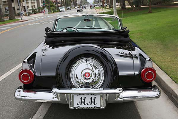 玛丽莲-梦露生前座驾将被拍卖 估值逾300万