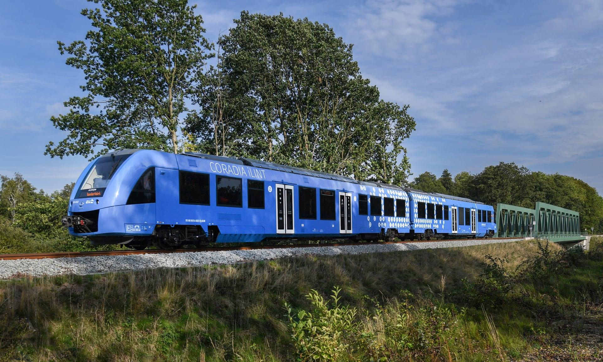 世界首辆氢动力列车在德国上线运营