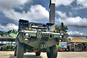 泰国升级凯迪拉克装甲车装备海军陆战队
