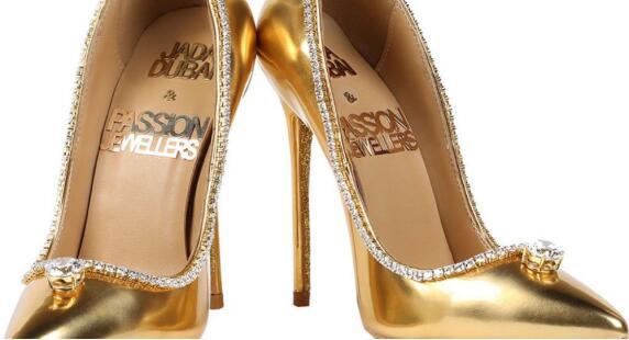 迪拜将展出全球最贵鞋子 价值1700万美元