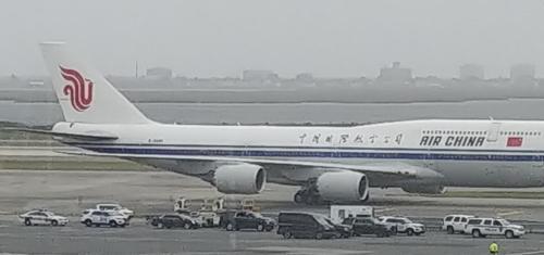 朝鲜外相乘国航客机抵达美国 获罕见高规格接待
