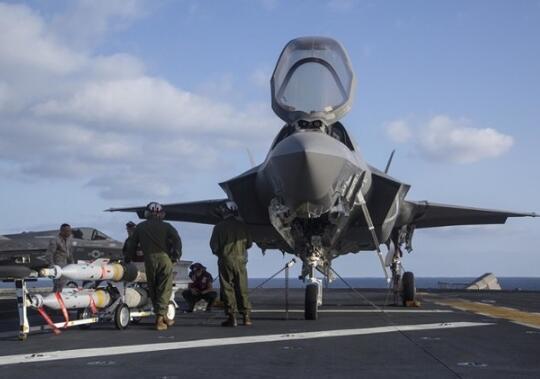 美军F-35B战机首次实战 被曝数日内要空袭阿富汗