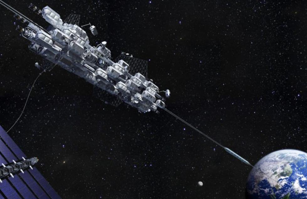 日迷你太空电梯进入太空 降低往返太空成本