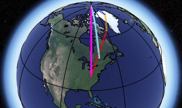 NASA确定地轴飘移三大原因 人类活动改变了规律