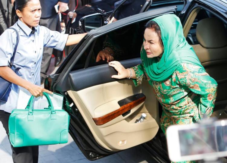 纳吉布夫人现身马来西亚反贪委员会 再次接受问话