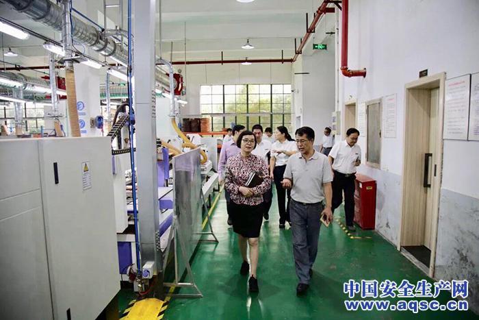 上海市闵行区安监局领导带队开展安全生产专项督查