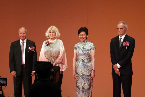2018年度邵逸夫奖颁奖礼在香港举行