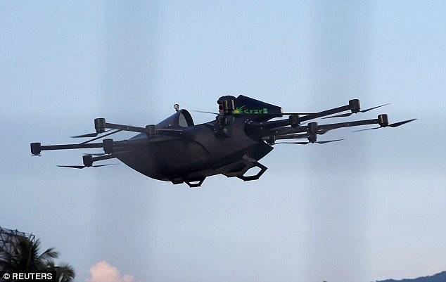 菲律宾民间高手发明飞行跑车引澳企合作