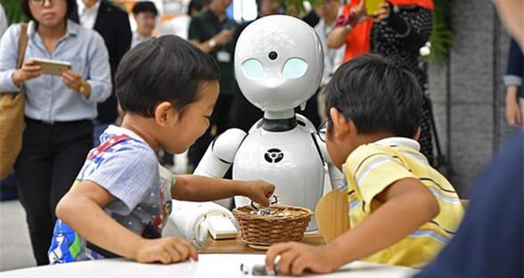 日本创残障人士就业新岗位 遥控机器人当服务员
