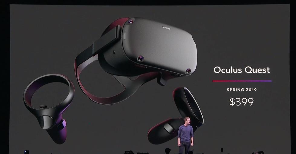 Facebook最新VR头盔预计明年上市 售价399美元