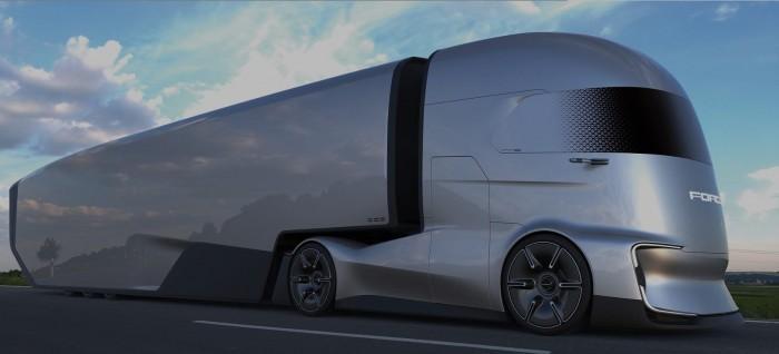 福特发布电动半挂卡车概念车 具备4级自动驾驶功能