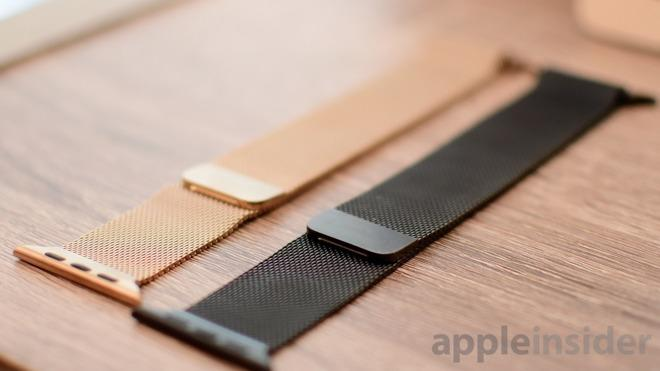 Apple Watch金色米兰尼斯表带上手体验