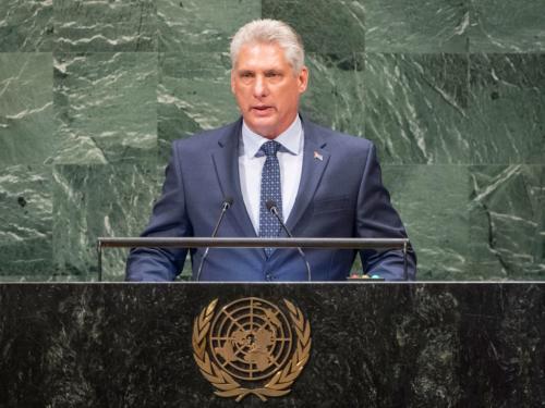 联大一般性辩论:古巴领导人吁结束对古经济制裁