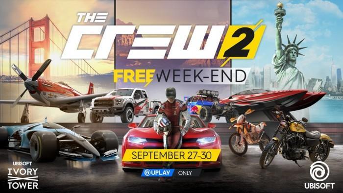 《飙酷车神2》迎免费周末 完整内容限时畅玩