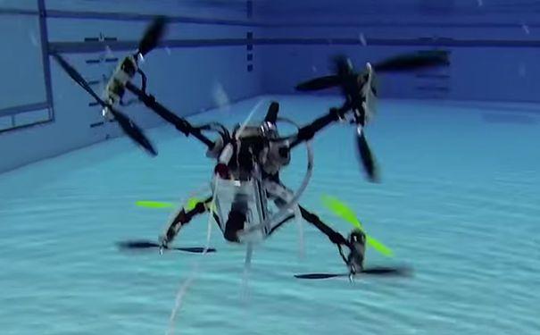 俄制成可施放无人机的无人潜航器