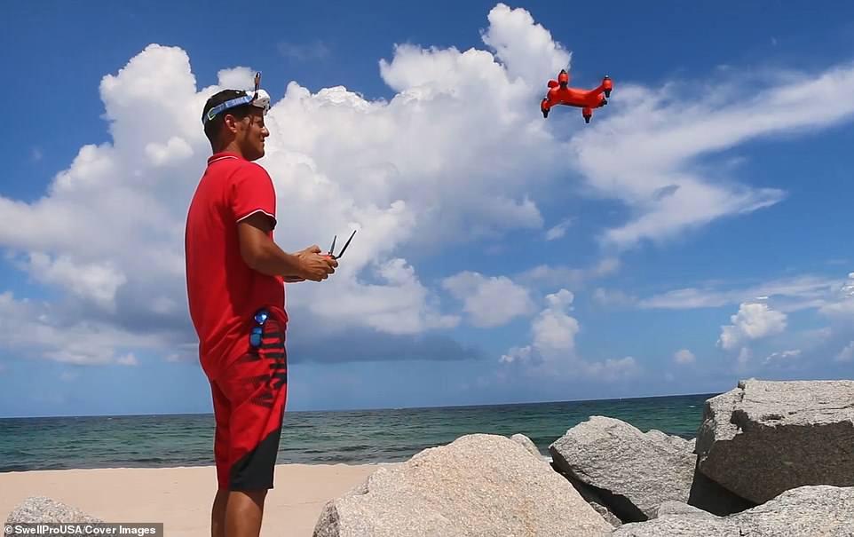 首款水空两用无人机面世 冲破科幻与现实的界限