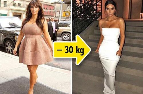 明星减肥前后对比:有人胖瘦间切换自如,最厉害的却是卡戴珊