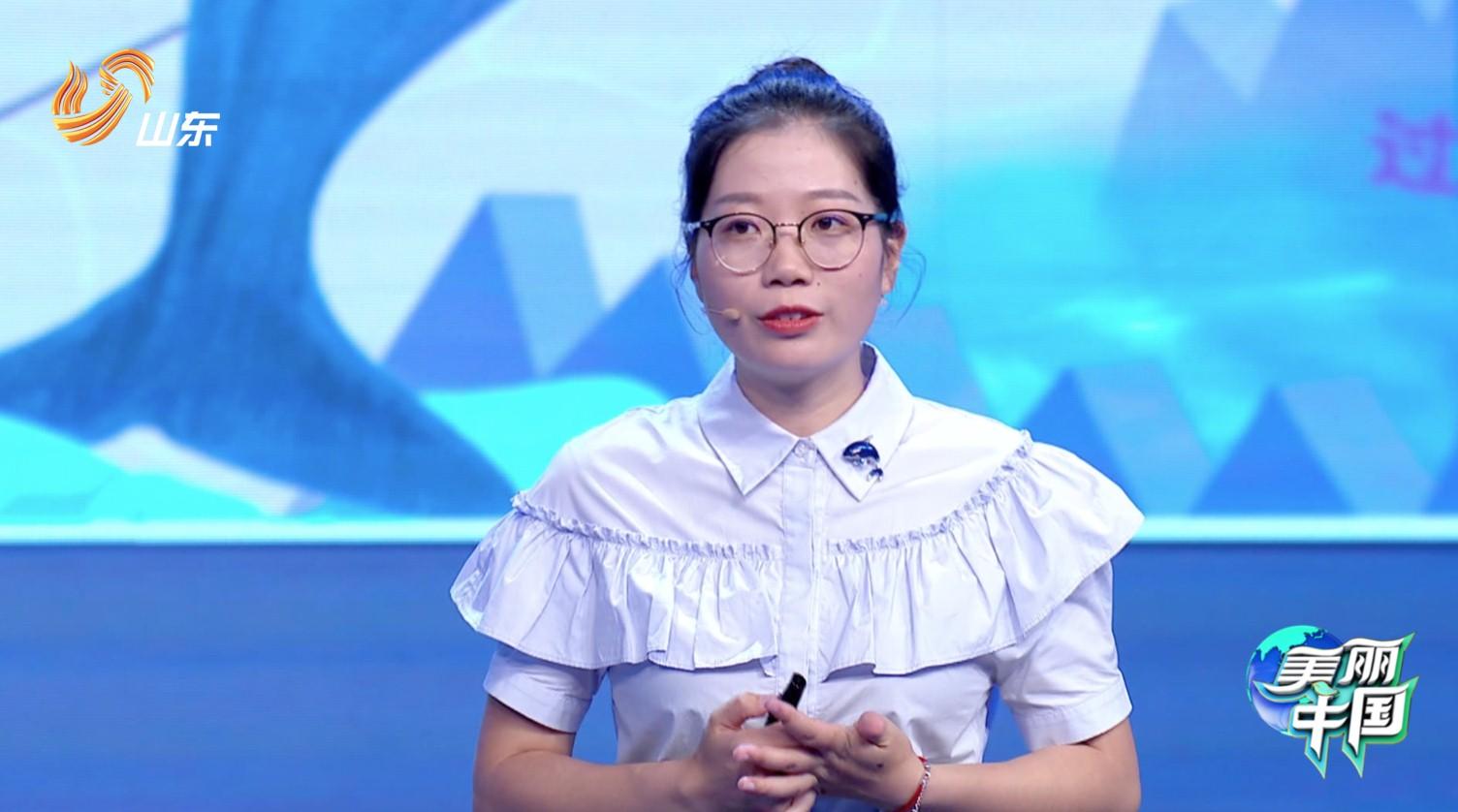 那个与江豚恋爱的女孩 来山东卫视《美丽中国》了