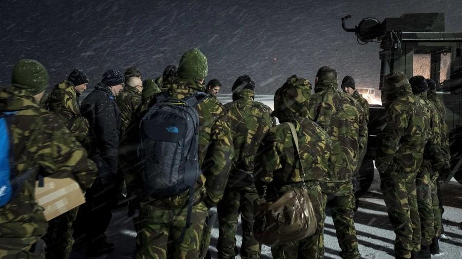 """真""""冷战"""" 荷兰1000名士兵到挪威训练未带冬衣"""