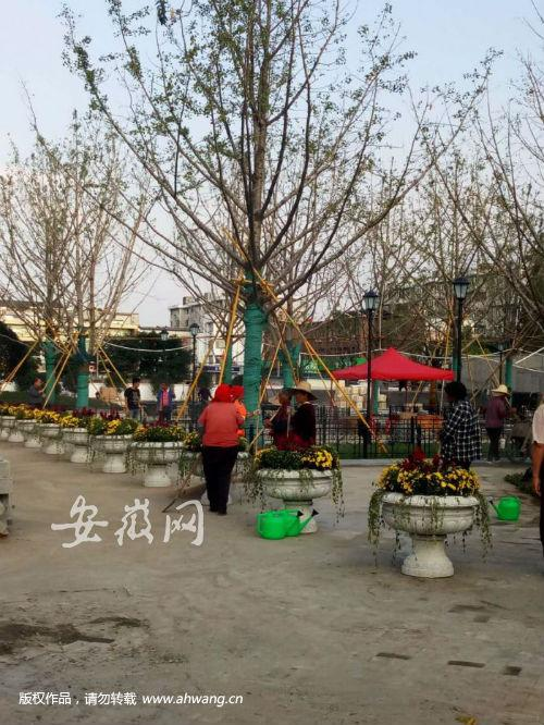 花冲公园改造一年多啥时开放? 十一开放北入口广场