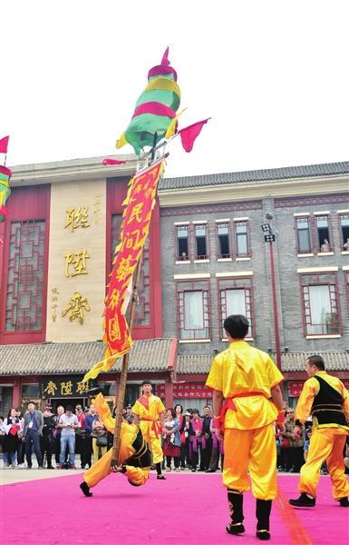 妈祖节看皇会 过足民俗瘾