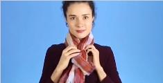 简单易学的几种围巾围法 ,天冷了速度学习一下吧