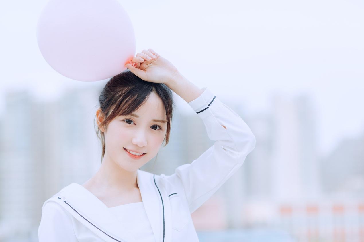 校花女神米咪开学季美图曝光 翘马尾轻盈青春尽显童真可爱