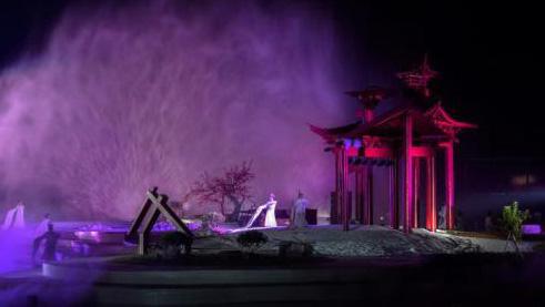 沉浸式实景演出 《寻梦牡丹亭》亮相戏剧节