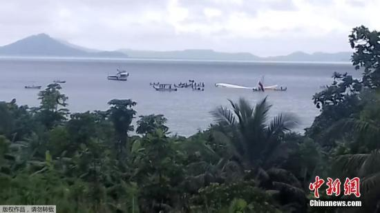 巴布亚新几内亚航空:客机坠海事件中有一男乘客失踪