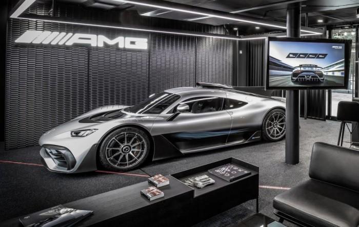 梅赛德斯全新公路版F1超跑更名为AMG ONE