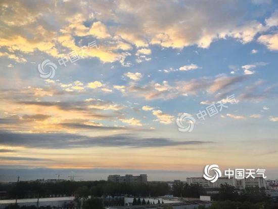 """北京未来3天阵风可达6-7级 """"十一""""期间以晴为主"""