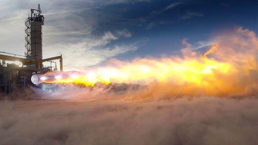 贝索斯的蓝色起源接火箭发动机大单 成SpaceX劲敌
