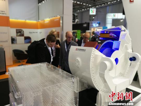 中国中车在德国汉堡发布风电新技术